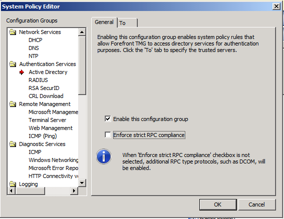 "RPC Server is unavailable"" error when requesting a certificate"